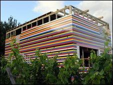 BBC NEWS | UK | England | Surrey | Lego brick house nears completion