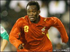 Ghana's Michael Essien