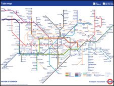 Bbc Underground Map BBC   London   Thames reunited with Tube map