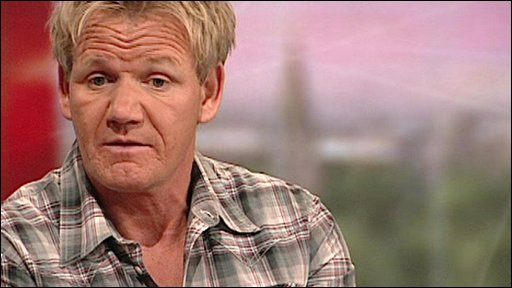 Ramsay 'gets Saucy' For Charity