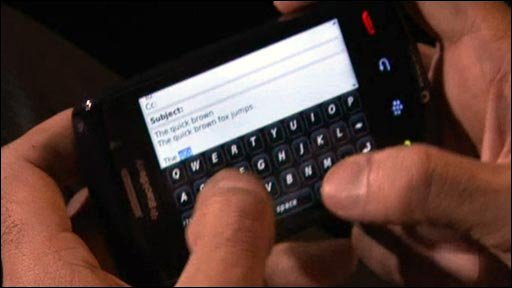 blackberry storm 2 keyboard - photo #43