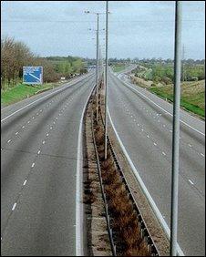BBC - Leeds - M1 motorway reaches 50 years