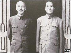 the relationship between chiang kai shek and mao zedong