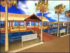 The Maldives virtual embassy
