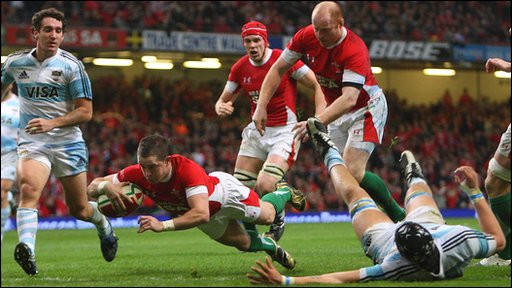 Bbc Sport Rugby Union Highlights Wales 33 16 Argentina