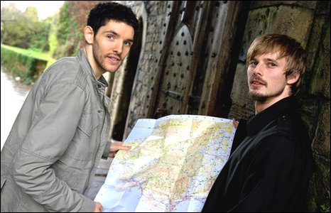 BBC - Merlin stars on the Camelot trail