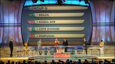 Group G draw