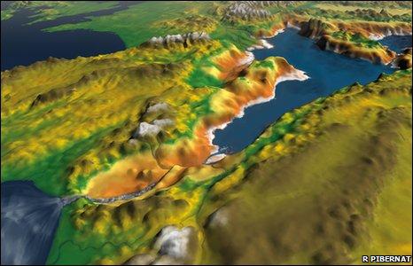 BBC News - Ancient Mediterranean flood mystery solved