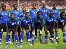 Tanzanian National team