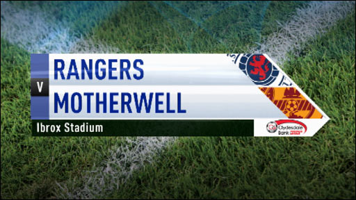 motherwell vs rangers - photo #34