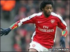 Cameroon and Arsenal's Alex Song