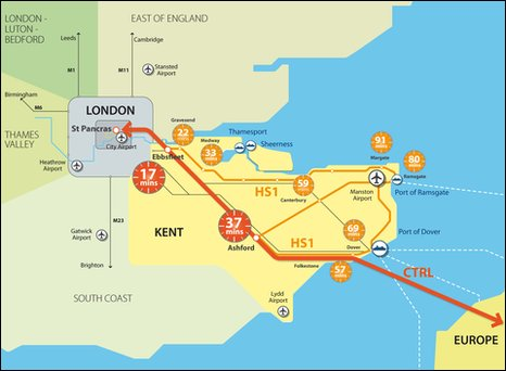 Kent Map Of England.Bbc Have Your Say The Future Of Kent