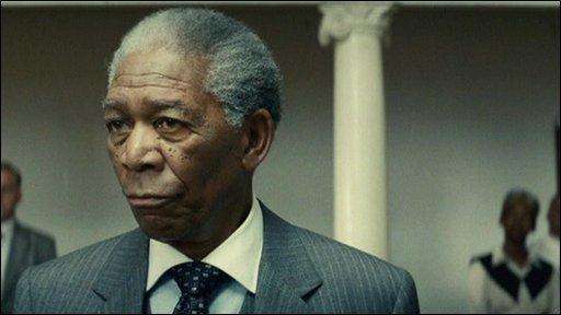 BBC News - Morgan Freeman as Nelson Mandela