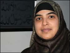Dr Nazreen Nawaz, spokeswoman for Hizb ut-Tahrir
