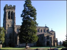 BBC News - Grants awarded for Shropshire church repairs