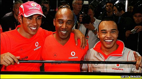 a9cf2d9402f7 BBC Sport - F1 - Lewis Hamilton splits with father Anthony as manager