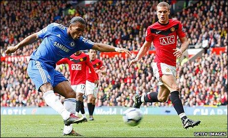 BBC Sport - Football - Man Utd 1-2 Chelsea