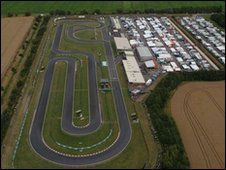 BBC - Trent Valley Kart Club host international karting event