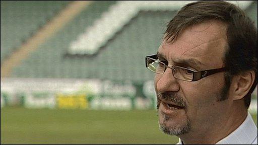 Bbc Sport Football Argyle S Tony Campbell Angry