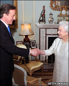 David Cameron and the Queen