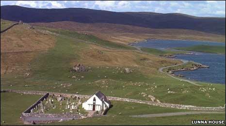 Lunna shetland